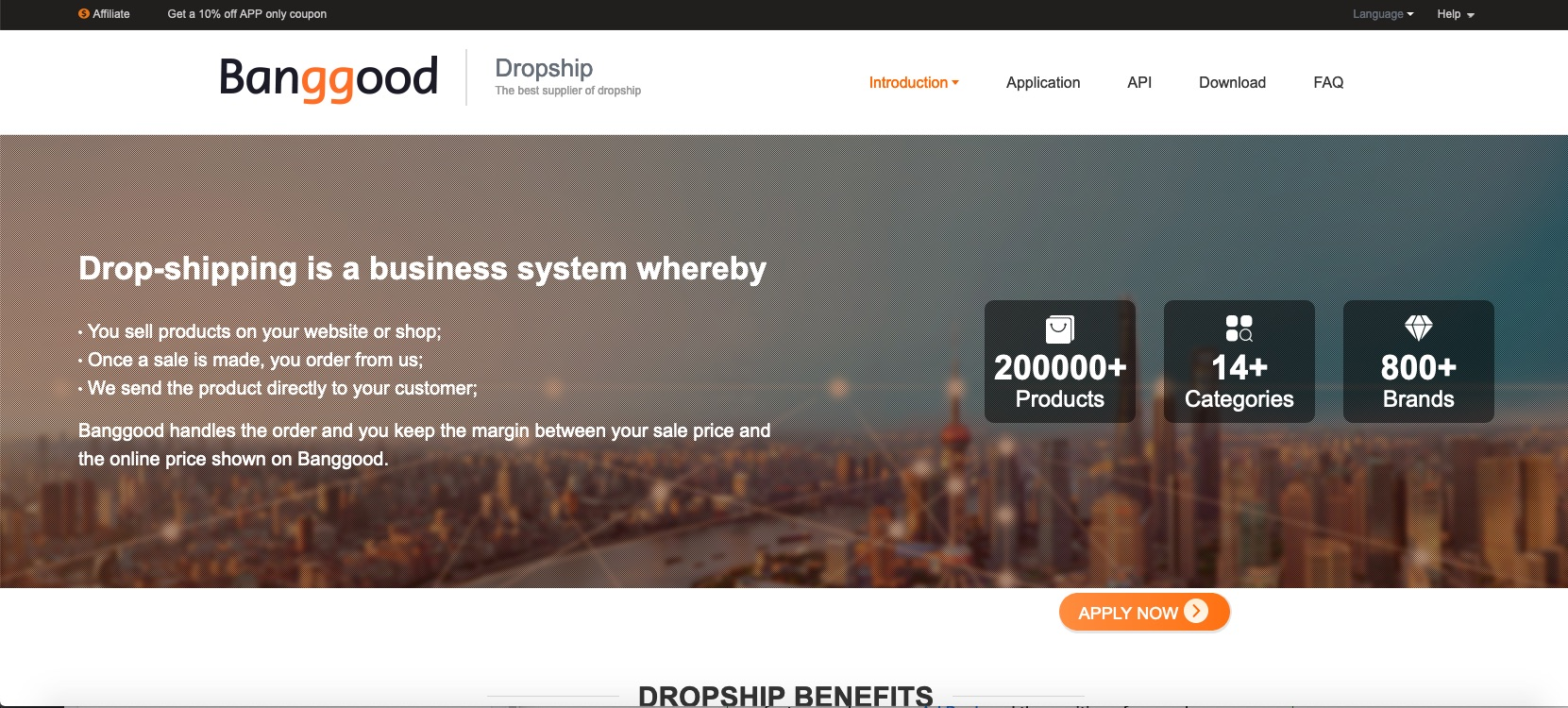 Banggood DropShipping API Credentials