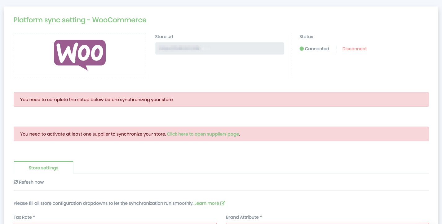 Banggood WooCommerce Platform Settings